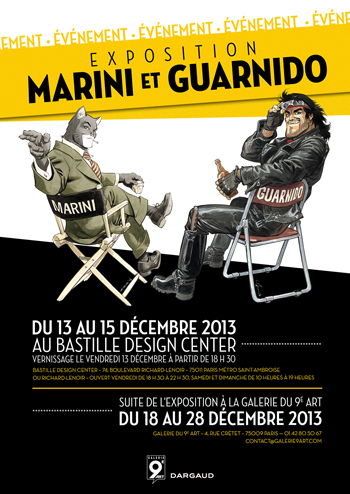 Double exposition Marin & Guarnido