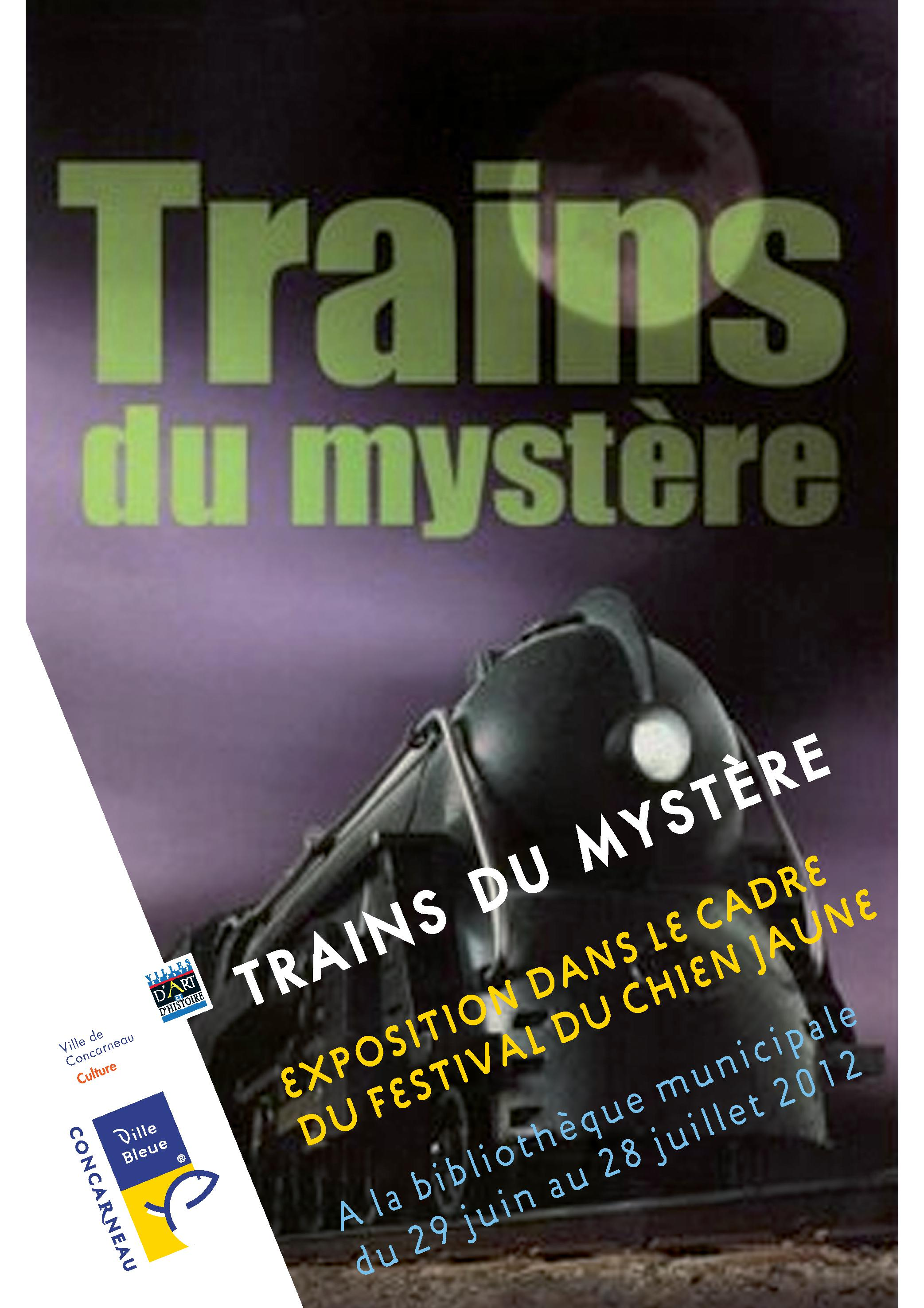 Trains du myst�re � Concarneau