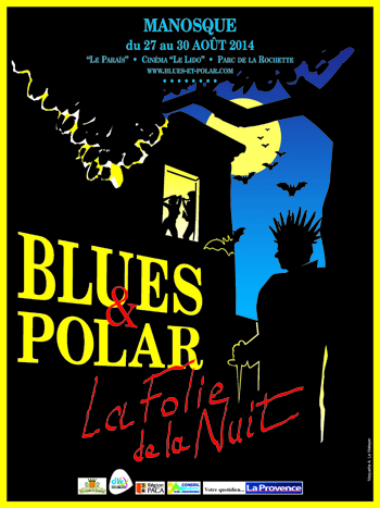 Affiche Blues & Polar 2014