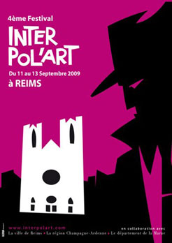 Affiche Interpol'art 2009